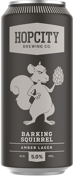 Barking Squirrel | Hop City Brewing Co  | Brands | Moosehead