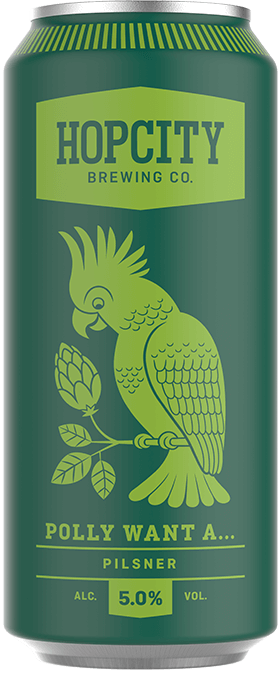 Polly Want a Pilsner | Hop City Brewing Co  | Brands